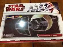Load image into Gallery viewer, Star Wars Darth Vader's Tie Fighter Snap-tite Model Kit Revell New Sealed