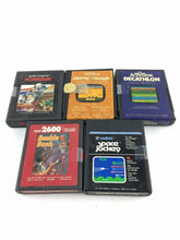 Load image into Gallery viewer, Lot Of 5 Atari 2600 Video Games 5629