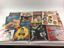 Load image into Gallery viewer, Assorted Lot Of 10 Vintage Boxing Magazines-1948-1968 MINT-5412