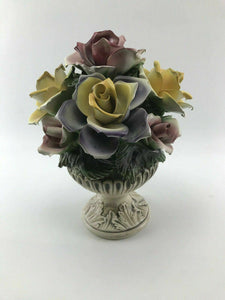 Vintage Capodimonte Flower pot - Lot 3305