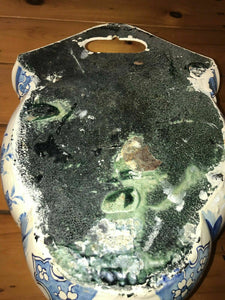 Antique Blue and White Enameled Lavabo - lot 3037