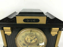 Load image into Gallery viewer, Ansonia Clock NY, Antique 5 1/2 1880s open escapement Dial Cast Iron Clock #1603