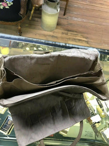 Vintage Antique Military Pouch Bag