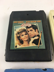 Vintage 8-track Tapes: Barry Manilow, James Gang, Grease, Waylon Etc.. 5666