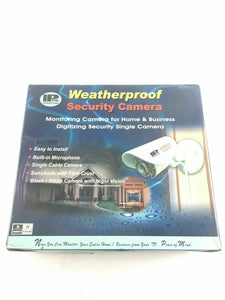 Weatherproof Black/White security camera With Night Vision IP56 -4379