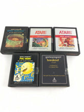 Load image into Gallery viewer, Lot Of 5 Atari 2600 Video Games 5630