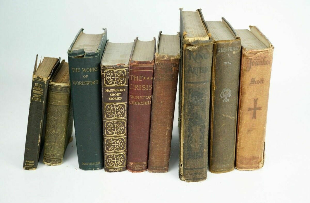 (8) Assorted Vintage Poem & Story Books - Lot 1726