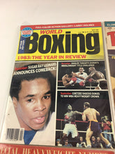 Load image into Gallery viewer, Assorted Lot Of 5 Vintage Boxing Magazines-1948-84 MINT- 5566