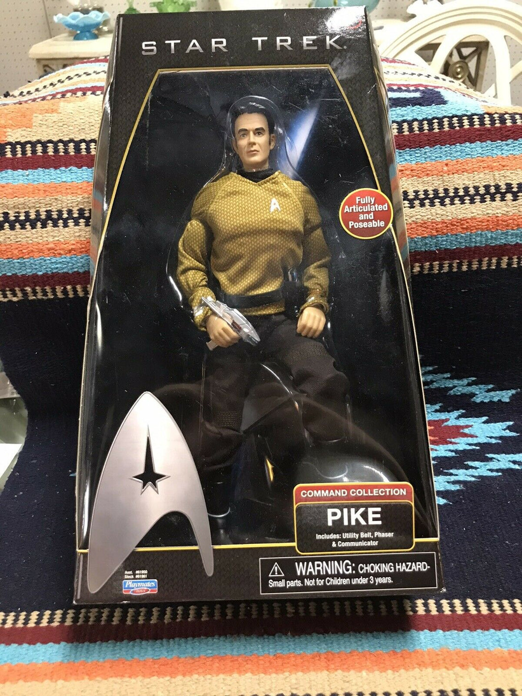 STAR TREK COMMAND COLLECTION CAPTAIN PIKE 12