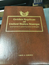 Load image into Gallery viewer, Golden Replicas of United States Stamps -4438