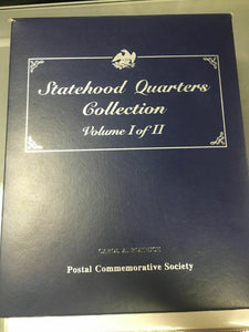 Statehood Quarters Collection Postal Commemorative Society Vol. 1 & 2 -4431