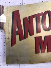 Load image into Gallery viewer, Vintage Antonio's Meats Meat Cleaver Sign-5105