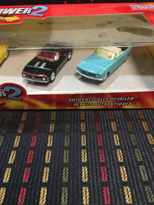 Johnny Lightning Pony Power 2, car set, Camaro,Mustang,AMC Javelin,Trans Am