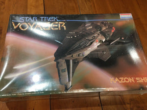 Monogram Star Voyager - Kazon Ship Model Kit 3606 FACTORY SEALED BOX!
