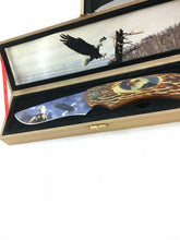 Load image into Gallery viewer, Wolf And Eagle Collectors Knives 4722