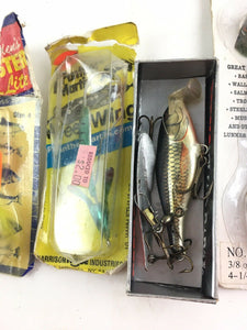 Vintage Fishing Lures Lot Of 5 5392