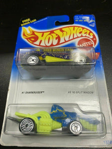 1994 Hot Wheels Hotwheels Error Packing!! Wrong Car In Bonus Pack! Rare NOS