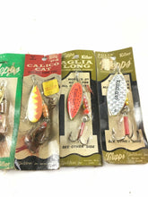 Load image into Gallery viewer, Vintage Fishing Lures Lot Of 5 Spinners 5003