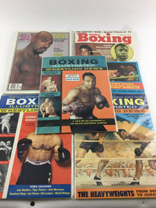 Assorted Lot Of 5 Vintage Boxing Magazines-1970-82 MINT-5529