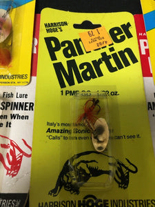 Vintage Fishing Lures Lot Of 5 Panther Martin 8038
