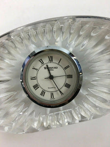 Oval Waterford Crystal Clock - Lot 3971