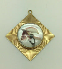 Load image into Gallery viewer, TIFFANY & CO 14K YELLOW GOLD FLY FISHING LURE CHARM / PENDANT - LOT 4100R