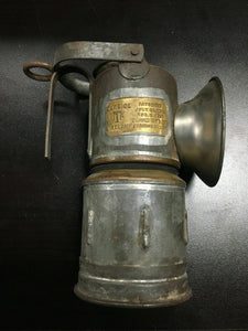 CARBIDE ITP MINE LAMP PATENTED JULY 29,1913 DEWAR MFG. CO. BROOKLYN,NY -3669
