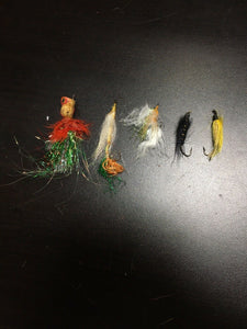 Vintage Fly Fishing Lot Of 5 8060