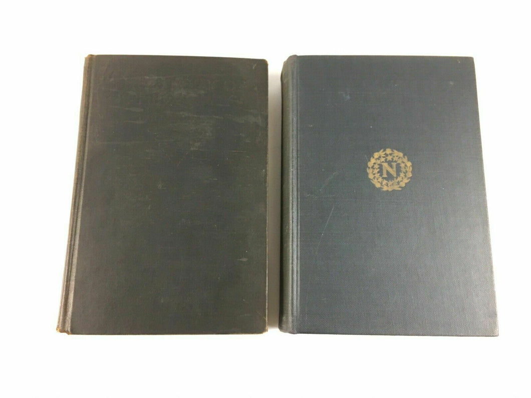 (2) Books The Story Of Philosophy & Napoleon - Lot 3880