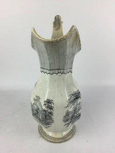 Pearl Stoneware PW & Co. Pitcher - lot 1808