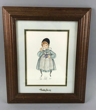 "Load image into Gallery viewer, 1986 PATRICIA BUCKLEY MOSS LITHOGRAPH "" CAROLINE"" 775/1000 - LOT 3473"