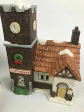 Load image into Gallery viewer, Assorted Lot Of Porcelain Christmas Houses And Figurines- Lot 592