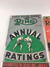 Load image into Gallery viewer, Assorted Lot Of 5 Vintage Boxing Magazines-1955-72 MINT-5546