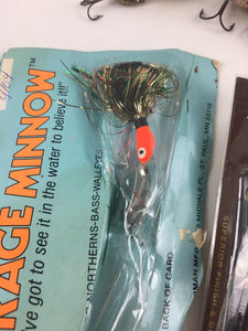 Vintage Fishing Lures Lot Of 5 5465