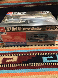 AMT '57 Bel Air Model Kit 1/25 New In Box- 9134
