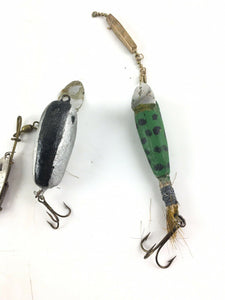Vintage Fishing Lures Lot Of 5 5442