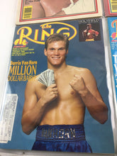Load image into Gallery viewer, Assorted Lot Of 5 Vintage Boxing Magazines-1983-87MINT-5505