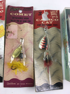 Vintage Fishing Lures Lot Of 5 5446