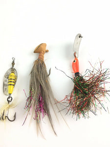 Vintage Fishing Lures Lot Of 5 5596