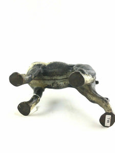 ANTIQUE HUBLEY CAST IRON BOSTON TERRIER DOORSTOP ~ GREAT ORIGINAL PAINT BR1