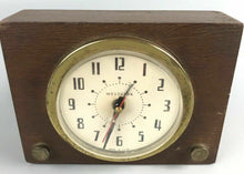 Load image into Gallery viewer, Vintage Westclox Wooden Alarm Clock- 1933