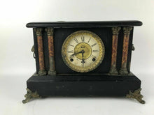 Load image into Gallery viewer, Antique Ingraham ADRIAN 8-Day Lion Head Mantle Clock - For Repair #1491