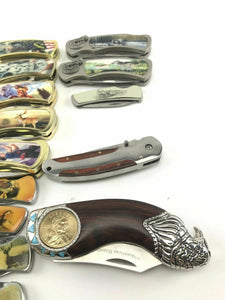 Assorted Lot of (25) Pocket Knives- 3706