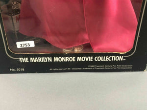 """HOW TO MARRY A MILLIONAIRE"" MARILYN MONROE DOLL IN ORIGINAL BOX - LOT 2753"