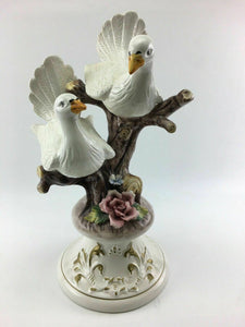 Vintage Capodimonte Porcelain Doves - Lot 3320