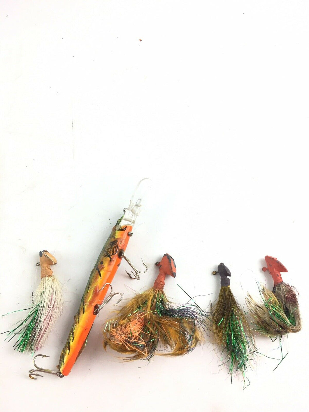 Vintage Fishing Lures Lot Of 5 5058