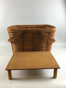 Longaberger Handwoven Basket Dresden, Ohio 1990 - Lot 4160