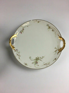 Haviland Ligmose Plate & Bowl Hand Painted - Lot 3887