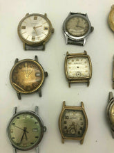 Load image into Gallery viewer, Lot Of 9 Vintage Mechanical MENS Wrist Watch, Chronograph Types And More B6