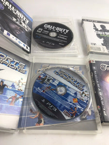 Assorted Lot Of 4 Playstation 3 (PS3) Video Games- 5235